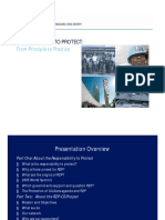 Responsibility to Protect Powerpoint Presentation