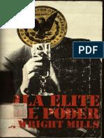 Ch. Wright Mills  La Elite del Poder.pdf