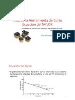 19 Ecuacion de Taylor