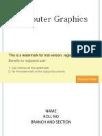 Graphics PracticalFile