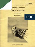 Casarini - 12 Studi chitarra