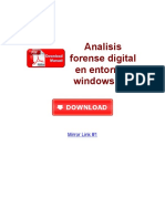 Analisis Forense Digital en Entornos Windows PDF