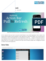 Android Pull to Refresh Tutorial _ TuteCentral