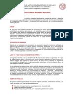 Plan de Estudios Licenciatura en Ingenieria Industrial