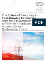 WEF Future of Electricity 2016
