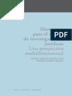 Libro DIG - Elementos para el diseño de investigaciones jurídicas
