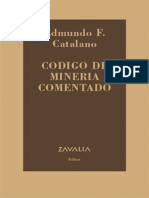 Código de minería comentado.