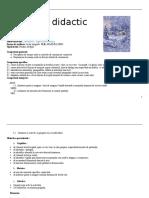 0 Proiect Didactic Clr Clasa a II A