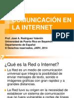 Comunicacion en La Internet