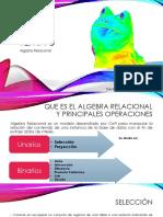 Tema 5 Algebra Relacional