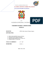 Redes y comunicaciones - Katherine Steffanie Cruz Polloqueri - Luz Bricelda Quispe Quisca