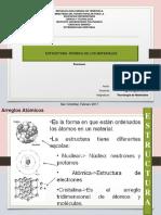 Estructura Atómica de Los Materiales