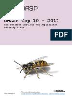 Owasp Top 10-2017 Template Din-A4