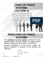 2. Resultant of Force Systems