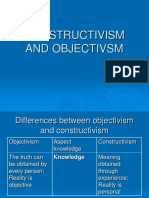 Constructivism and Objectivsm