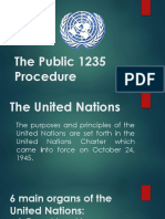 The Public 1235 Procedure