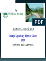 Cap N° 5-Energía Específica