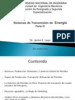 Sistemas de Transmision de Energia Parte IV Dr. Jaime Luyo UNI