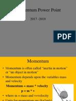 momentum 2017-2018