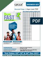 Physics Code P160