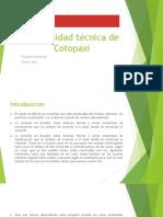 Universidad Técnica de Cotopaxi Expocicion de Emprendimiendo