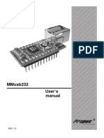 MMUSB232 User Manual