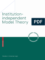 1 TX Diaconescu 2008 Institution-Independent Model Theory