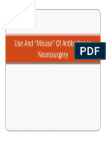 Antibiotics in Neurosurgery