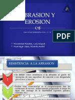 Abrasion,Erosion y Corrosion