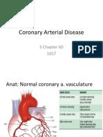 Coronary Arterial Disease