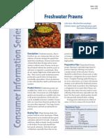 Srac_freshwater Prawns Consumer Info
