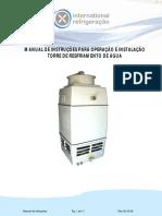 Manual Torre de Resfriamento
