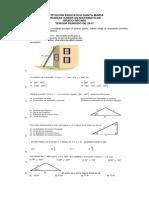 Pruebas Saber de Ecuaciones Trigonomc3a9tricas Ley de Senos y Ley de Cosenos Grado 10c2b0