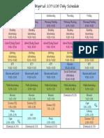 gullingsrud-schedule 2017-2018