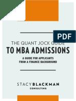 Sbc Quant Jock Guide