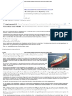 Cargo Conditioning, Reliquefaction and Boil-Off Control Requirement for a Liquefied Gas Carrier