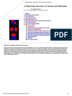 Molecular Orbitals - Molecular Orbitals for Homonuclear Diatomics