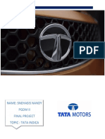 Market Analysis on Tata Indica