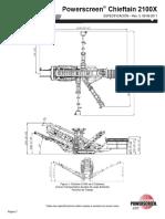 Páginas DesdeFicha Técnica Esp. Powerscreen Chieftain 2100X · Deck D. 2011