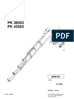 Catalogo de Piezas Palfinger PK42502 Grua