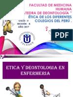 Etica Enfermeros y Trabajadores Sociales
