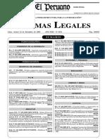 R.M.N° 0928-2005-AG, Aprueban Reglamento para la Administracion del Fondo de Desarrollo de Camelidos Sudamericanos