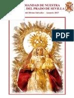 Anuario de la Hermandad de la Virgen del Prado de Sevilla 2017