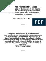 Tráfico de Influencias - David Rosales