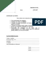 Caratula Evaluacion Tecnologia 2017