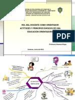Actitudes y Principios Básicos Del Orientador Presentación