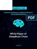 Deep Brain Chain White Paper
