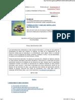 FAO-Formulacion y Analisis Detallado de Proyectos