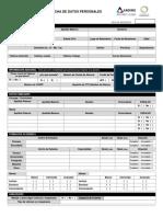 Ficha de Datos Personales - P&C_2014
