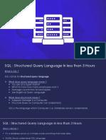 SQL Presentation